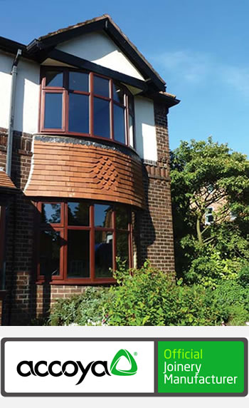 Accoya timber windows by Cheshire joinery Reddish