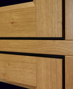 Traditional timber effect window joints