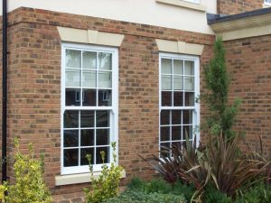 uPVC Georgian sash windows