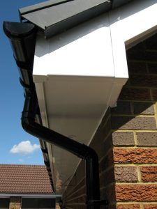 uPVC roof trim