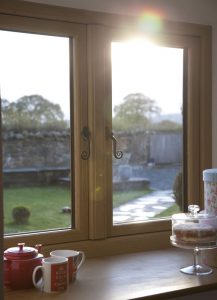 uPVC timber effect windows
