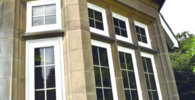 uPVC and timber windows