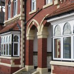 Stained glass designs for bay windows