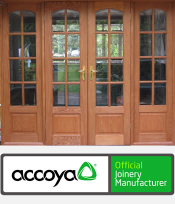 Accoya wood and timber interior doors