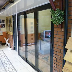Sale showroom doors