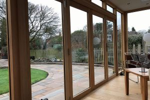 The inside view of an Accoya orangery