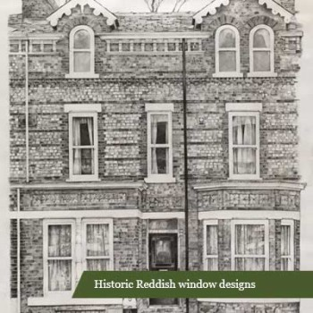 Historic Reddish window designs