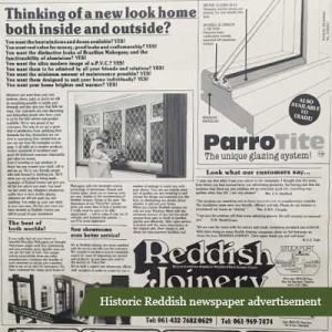 reddish advert