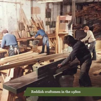 Reddish craftsmen in the 1980s
