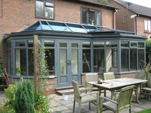 Chartwell green timber orangery