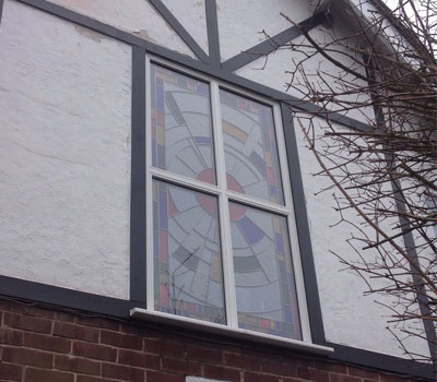 Reddish Joinery Stained Glass Window