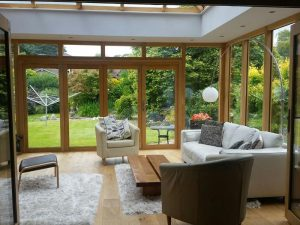 Accoya wood timber orangery