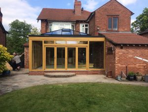 Bespoke timber orangery