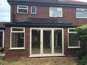 uPVC timber orangery