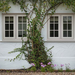 Residence 9 mock wooden windows