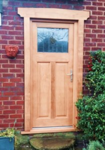 One of our timber doors