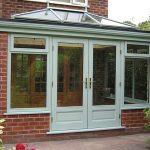 Accoya orangery with French doors