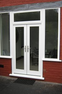 Accoya uPVC French doors