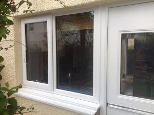 RockDoor stable door and white casement window