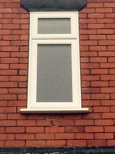 Simple but stylish uPVC window