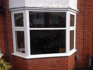 Exterior uPVC windows with external Accoya cills