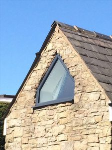 Georgian custom uPVC window