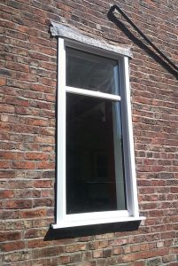 Large uPVC window