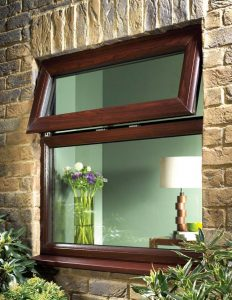 Rosewood effect window