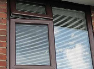Rosewood uPVC windows