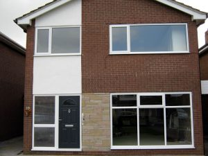 uPVC windows installation