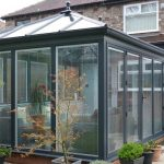 Grey glazed conservatory