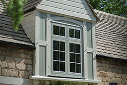 Chartwell green flush sash window
