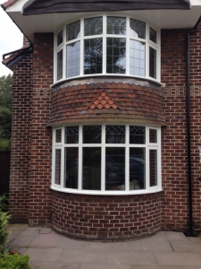 Accoya wood bow windows