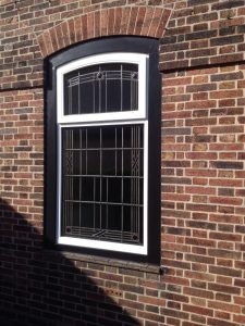 Accoya wood windows leaded lights