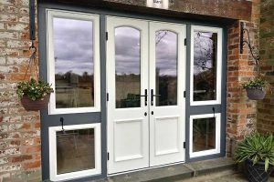 Accoya wood French door