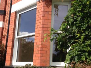 Accoya wood sash bay windows