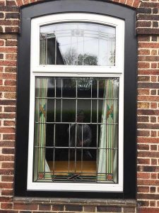 Accoya wood window