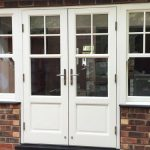Accoya wood tilt and slide sash window
