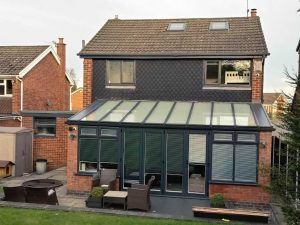 Grey uPVC conservatory short case estudy