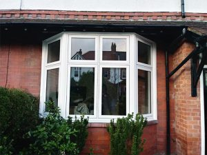 Heritage flush uPVC windows