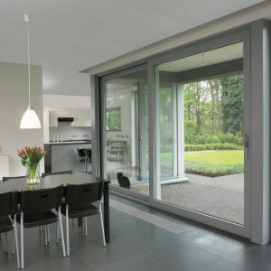 RAUM aluminium sliding patio doors