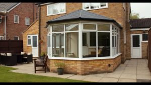 Ultraroof tiled roof conservatory