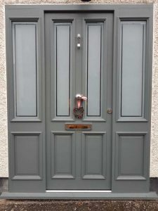 Accoya Door with Bolectican moulds