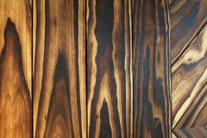Accoya feature wall woodgrain