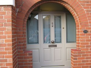 Accoya Sandblast Door
