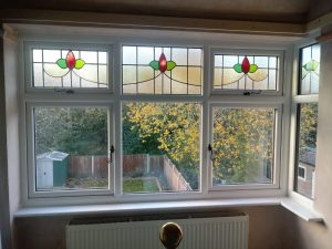 Bay Window Stained Glass