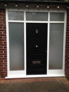 Black Accoya Door