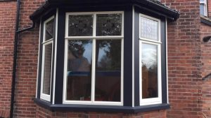 Black Timber Window
