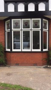 Black & White Timber Windows