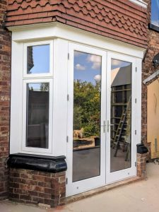 Large White French Doors